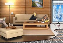 Электрический тёплый пол в деревянном доме с деревянными перекрытиями