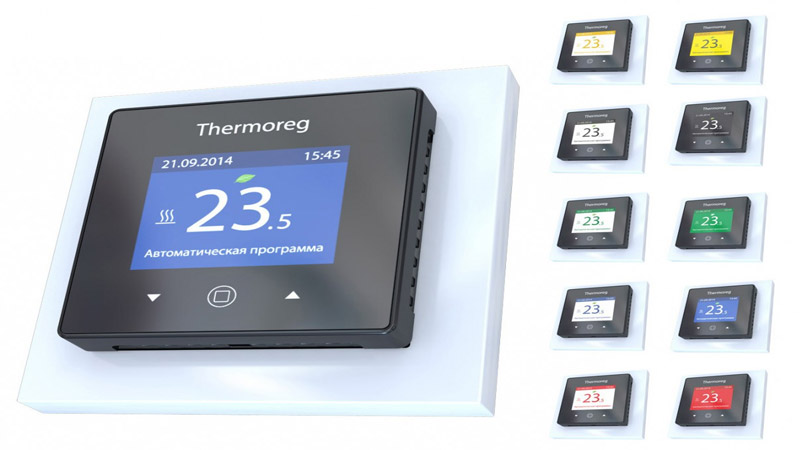 Современный терморегулятор для теплого пола